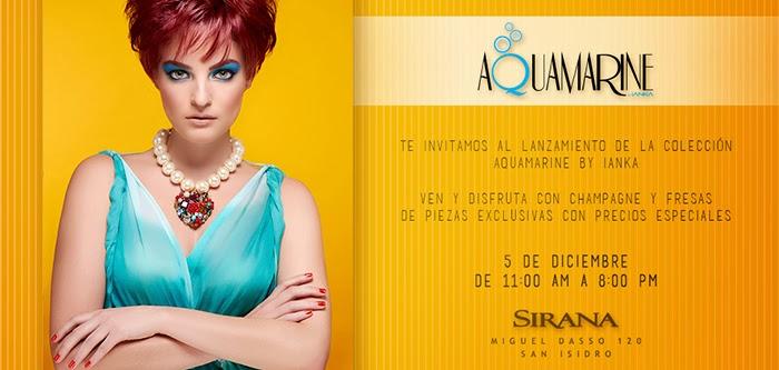 Ianka_invitacion  Aquamarine ... nuevas joyas de Ianka Ianka invitacion redes