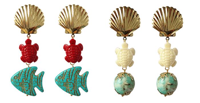 aretes ianka  Aquamarine ... nuevas joyas de Ianka aretes ianka