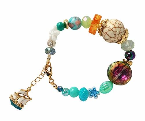 pulsera ianka  Aquamarine ... nuevas joyas de Ianka jewelry designer