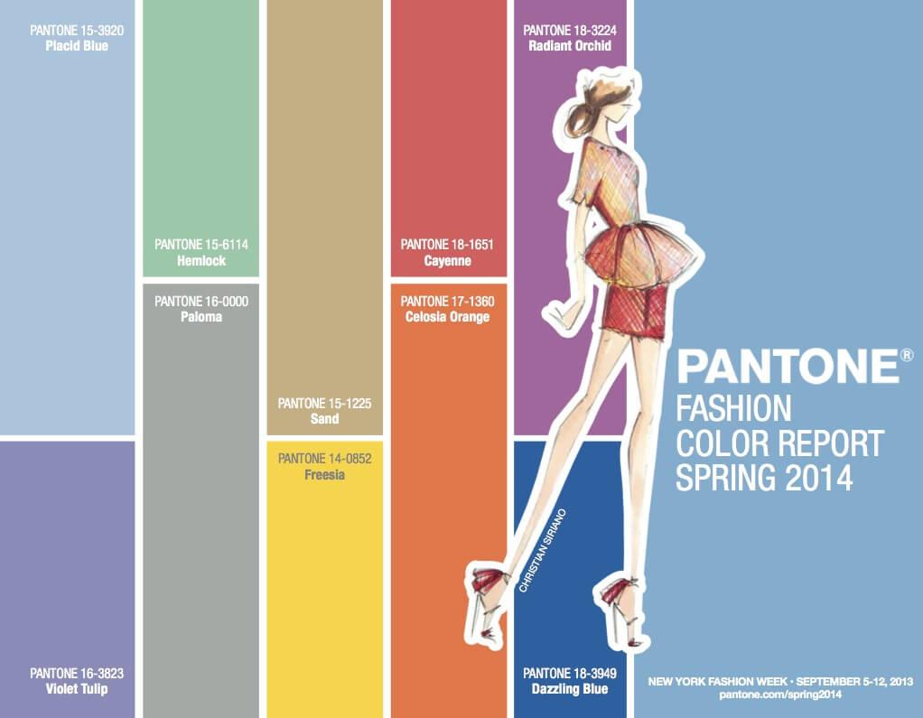 los colores  2014  los colores del 2014 top 10 colores Pantone 2014 ReasonWhy