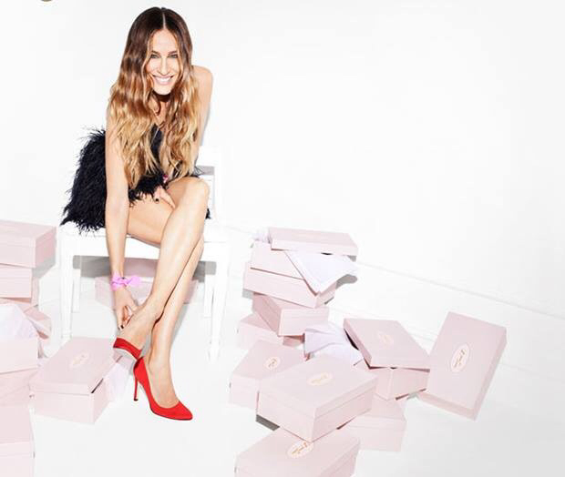 la actriz de sex and city sara jessica parker lanza  su primera colleccion de zapatos  Los zapatos de Sara jessica Parker sjp shoes