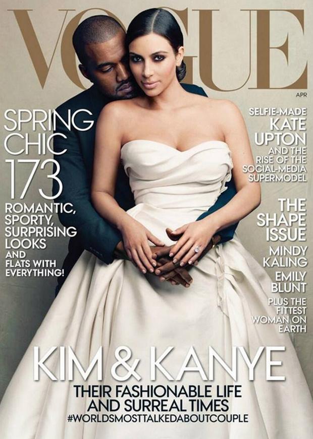Proxima portada de la revista vogue   Kim Kardashian y kanny en Vogue kim kardashian y kanye west en  vogue
