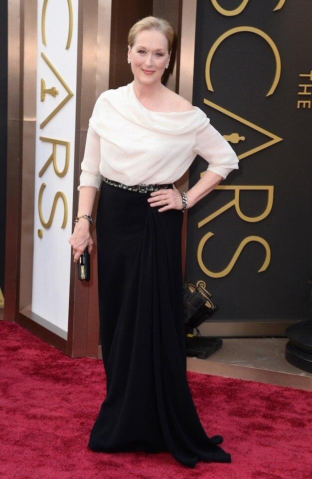 ALFOMBRA ROJA DE LOS PREMIOS OSCAR  Las mejores vestidas de los premios Oscars 2014 meryl streep oscar 2014 1