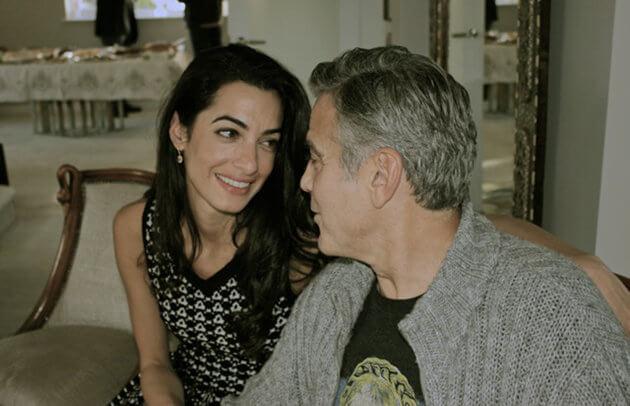 george _clonney-novia  La novia de GEORGE Clooney george  clonney novia