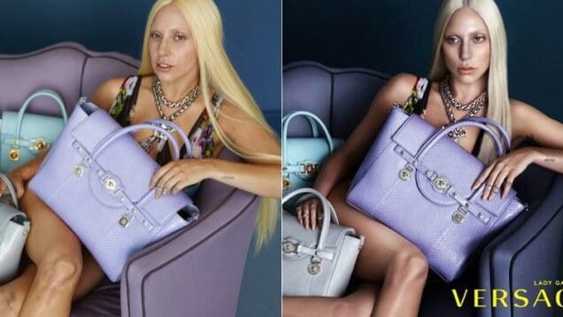 lady gaga  La moda y el Photoshop : Lady Gaga lady gaga