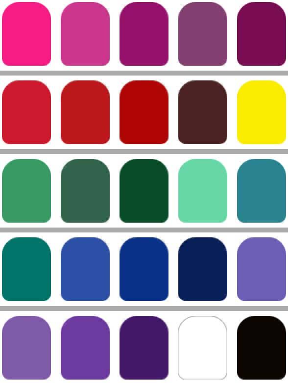 estos colores  resaltan la imagen de personas con altos contraste de rasgos segun la colorimetrai aplicada ala imagen personal  Colorimetria : los Colores  que te queda bien !! colores invierno