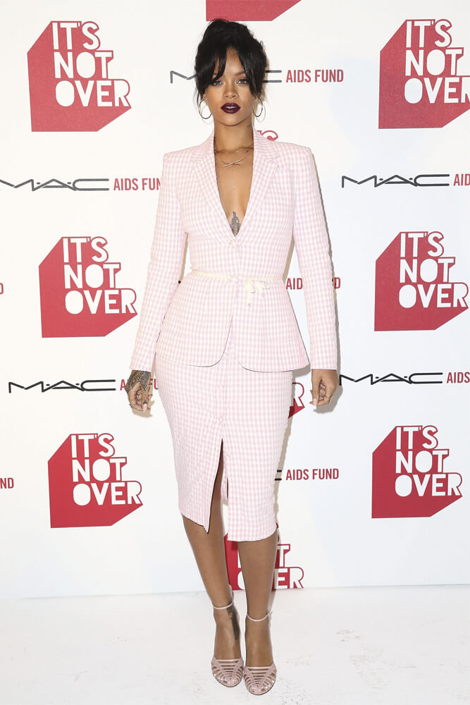 gingham style rihanna Tendencia Gingham Style Tendencia Gingham style gingham tendencia rihana