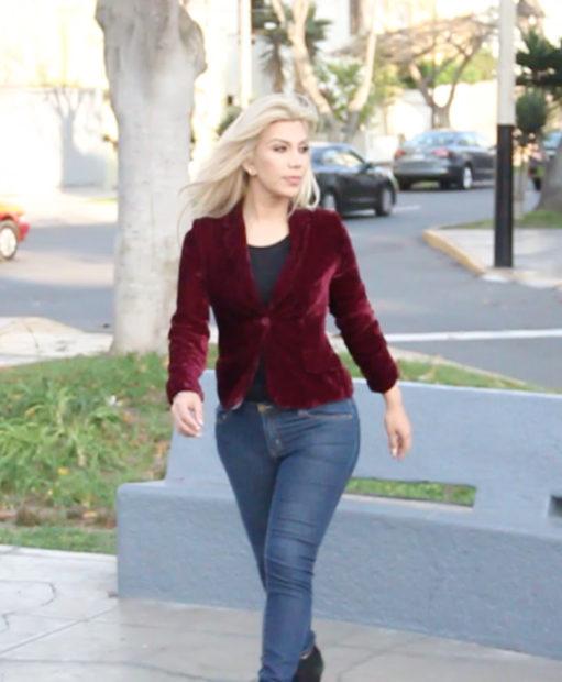 blazer-de-terciopelo-guinda looks favoritos Mis LOOKS favoritos : Otoño - invierno blazer de terciopelo guinda