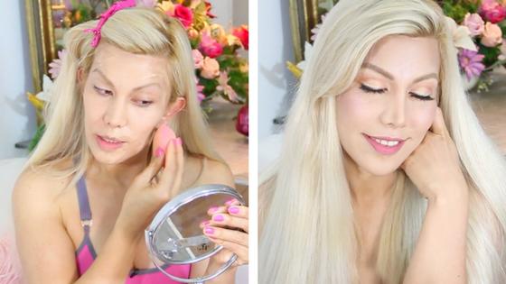 maquillaje natural para ojos -paso a paso