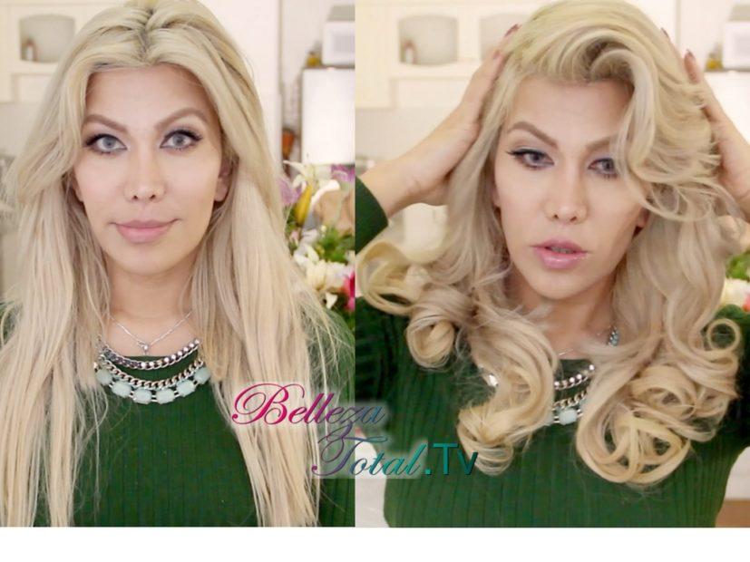 peinado con ondas glamorosas peinado Peinado glam : Mis Ondas fabulosas peinado con ondas antes y depues