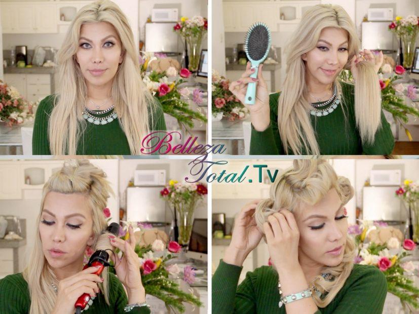 peinado glam con ondas  peinado Peinado glam : Mis Ondas fabulosas tutorial de peinado con ondas