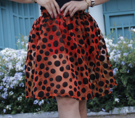 polka_dot_falda  Outfit - falda Polka dots polka dot falda