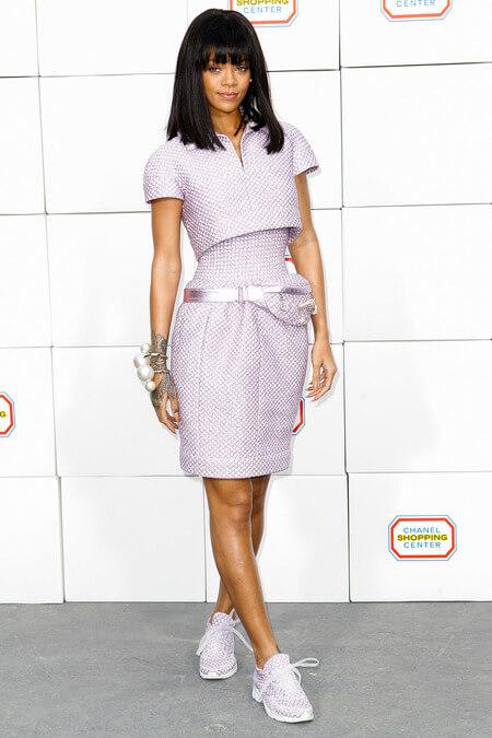 rihana  Chanel : Ready to wear 2014 fall-winter rihana  chanel